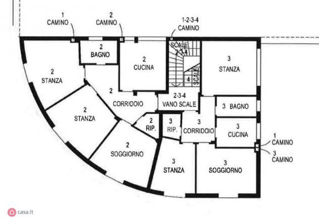 Appartamento di 180mq in Via del Commercio a Trento