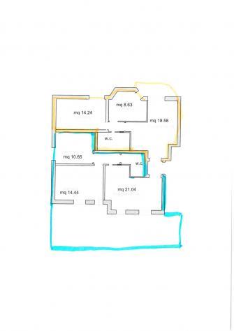 Appartamento in vendita a Siena 110 mq Rif: 965836