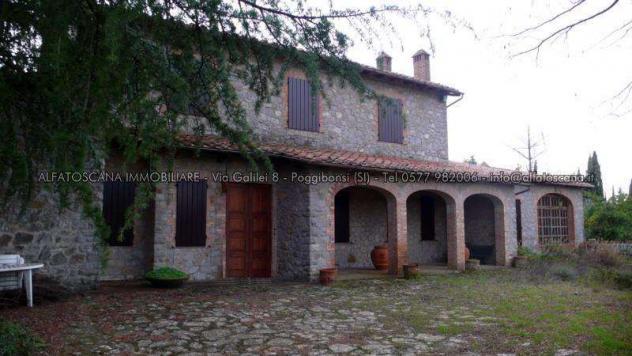 Villa singola in vendita a Castelnuovo Berardenga 500 mq Rif: