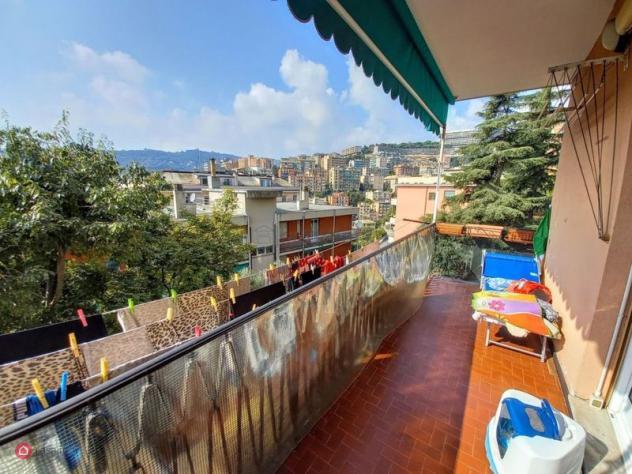 Appartamento di 90mq in Via Paolo Magretti a Genova