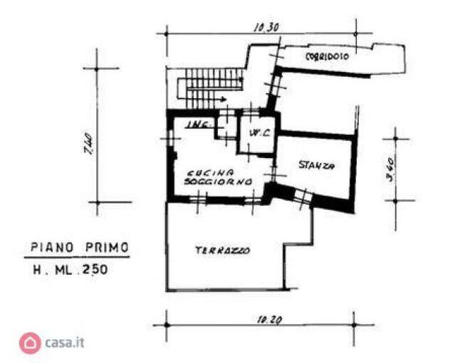 Appartamento di 64mq in Piazza Prada a Pergine Valsugana